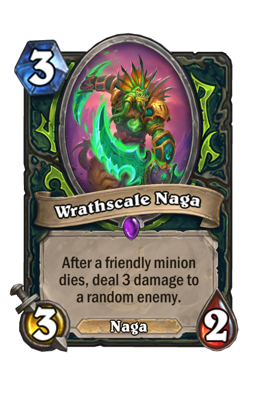 Wrathscale Naga Hearthstone kártya