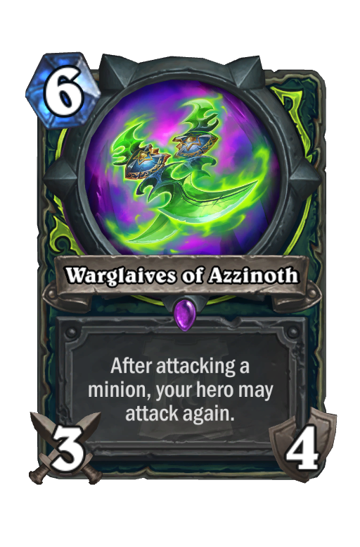 Warglaives of Azzinoth - Hearthstone kártya - Ashes of Outland