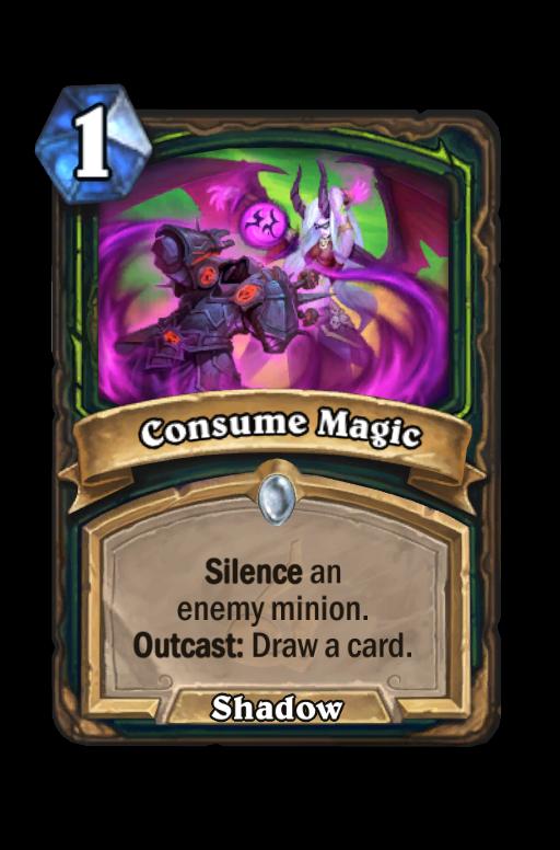 Consume Magic Hearthstone kártya