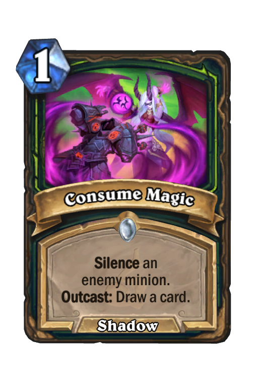 Consume Magic Hearthstone kártya
