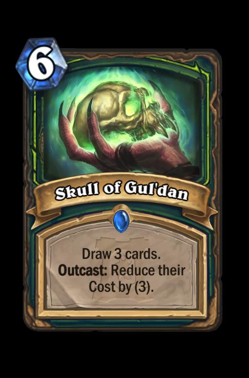 Skull of Gul'dan Hearthstone kártya