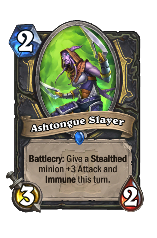 Ashtongue Slayer Hearthstone kártya