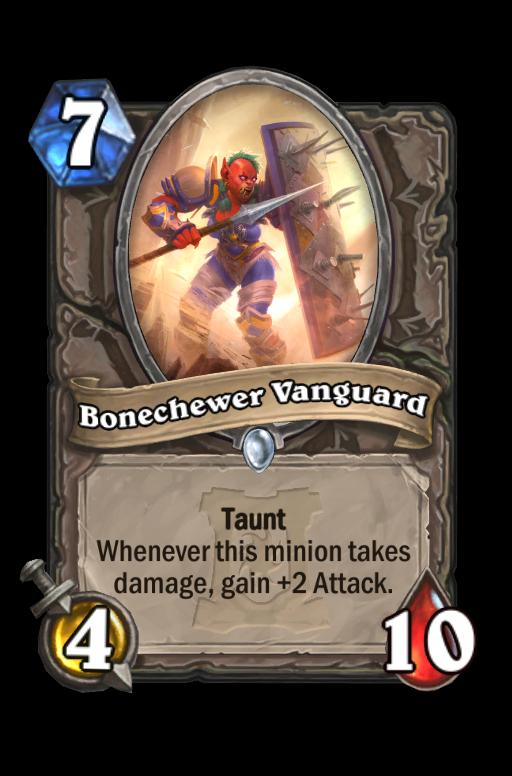 Bonechewer Vanguard Hearthstone kártya