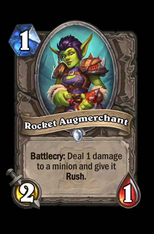 Rocket Augmerchant Hearthstone kártya