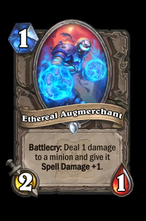 Ethereal Augmerchant Hearthstone kártya