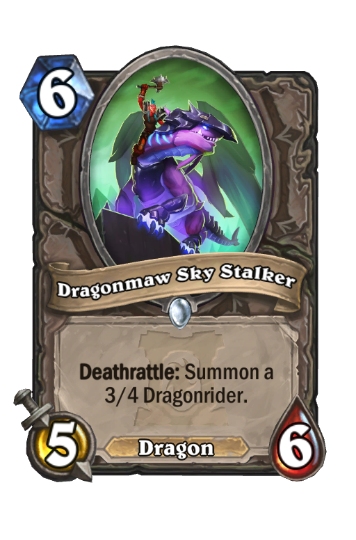 Dragonmaw Sky Stalker Hearthstone kártya
