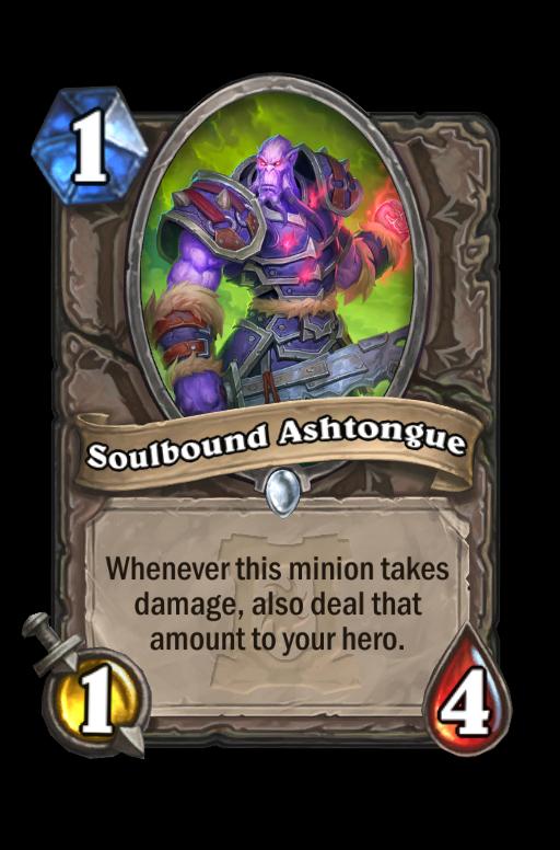 Soulbound Ashtongue Hearthstone kártya