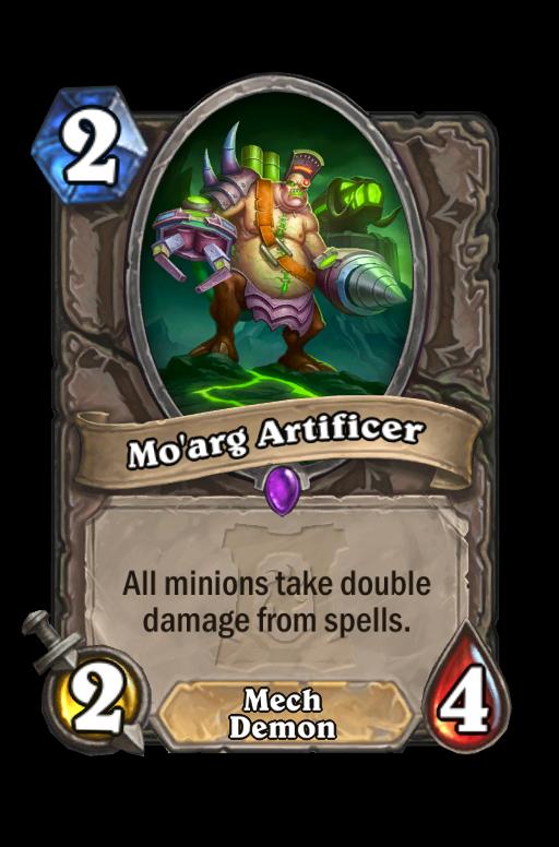 Mo'arg Artificer Hearthstone kártya