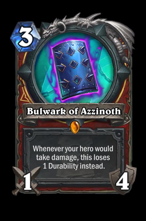 Bulwark of Azzinoth Hearthstone kártya