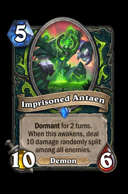 Imprisoned Antaen Hearthstone kártya