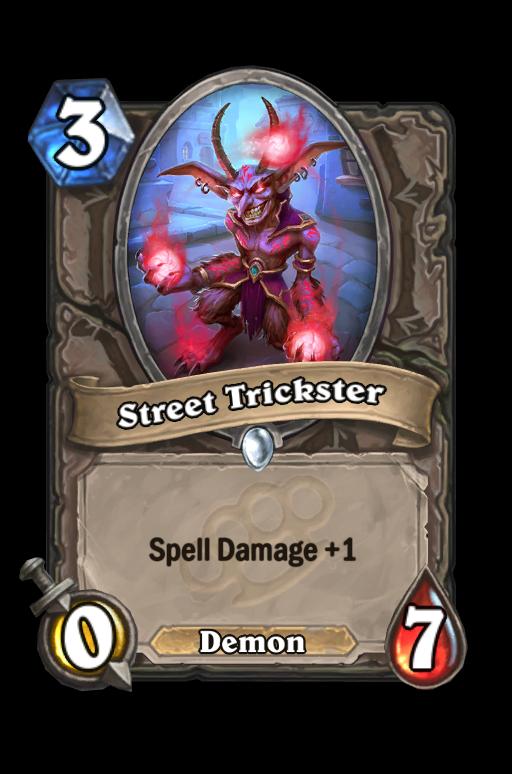 Street Trickster Hearthstone kártya
