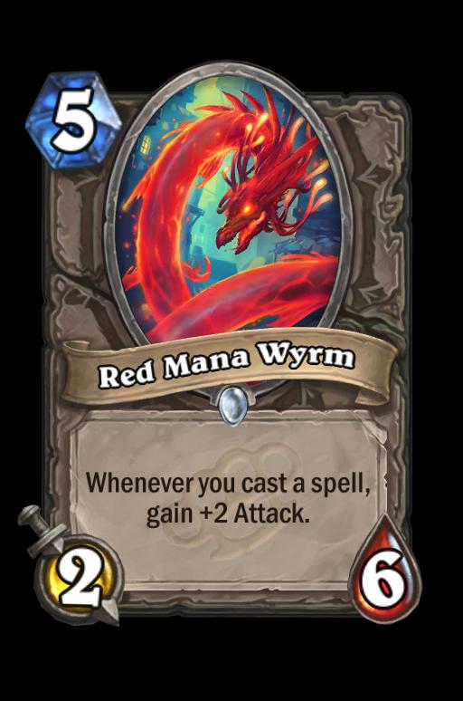 Red Mana WyrmHearthstone kártya