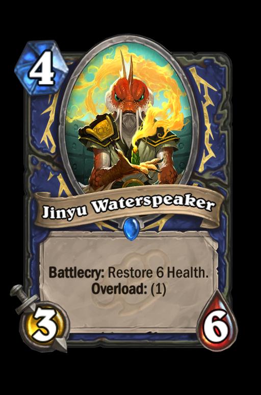 Jinyu Waterspeaker Hearthstone kártya