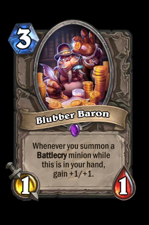 Blubber BaronHearthstone kártya