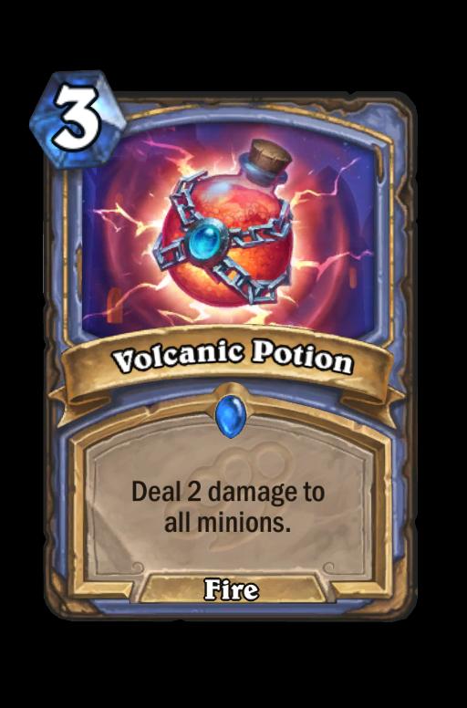 Volcanic Potion Hearthstone kártya