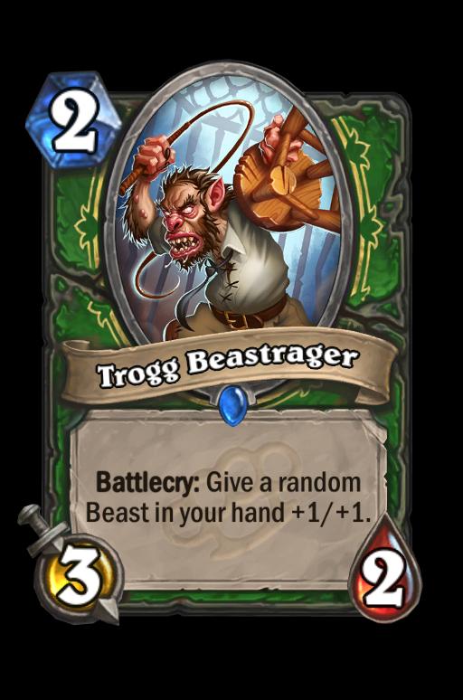 Trogg BeastragerHearthstone kártya
