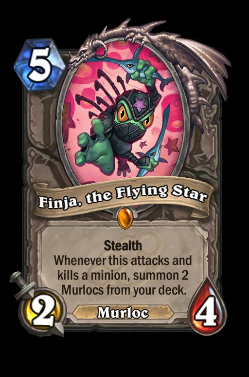 Finja, the Flying Star Hearthstone kártya