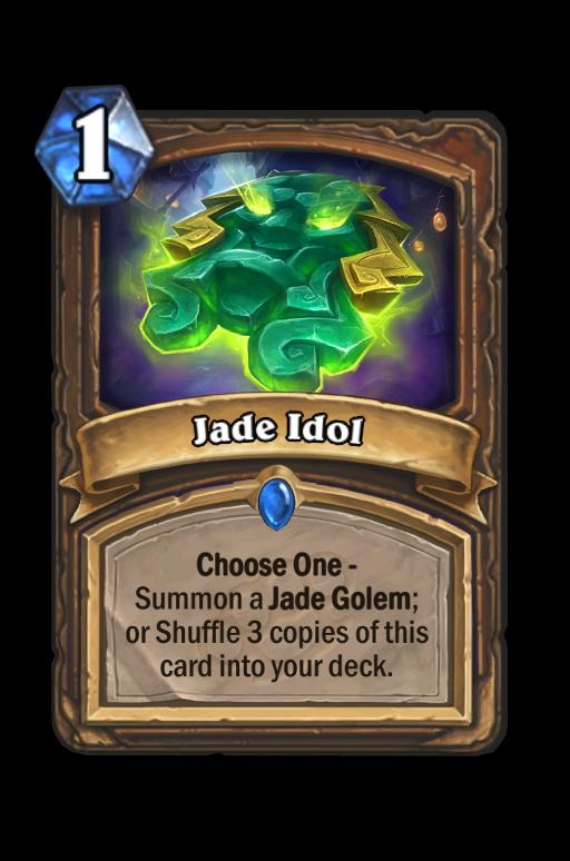 Jade Idol Hearthstone kártya