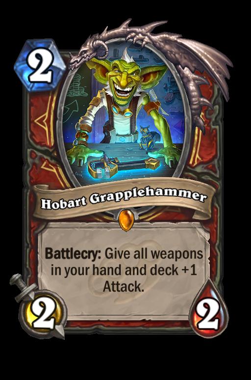 Hobart Grapplehammer Hearthstone kártya