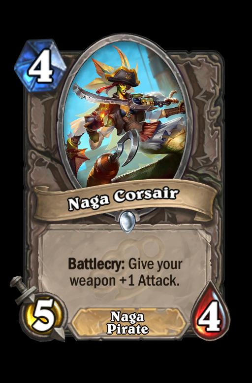 Naga Corsair Hearthstone kártya