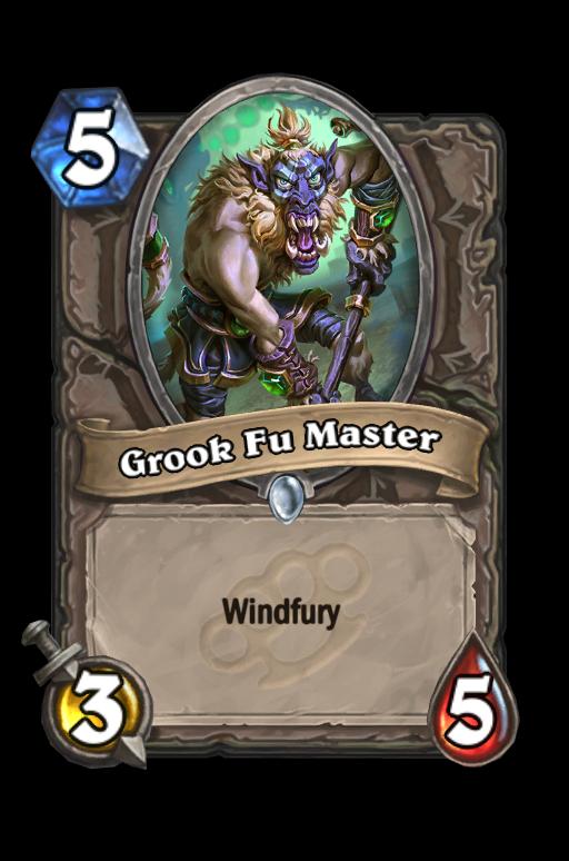 Grook Fu MasterHearthstone kártya