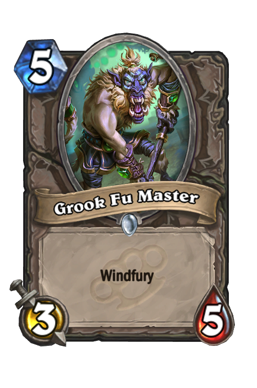 Grook Fu Master Hearthstone kártya