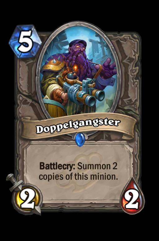 Doppelgangster Hearthstone kártya
