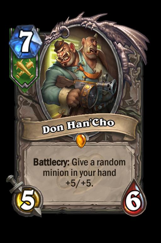 Don Han'Cho Hearthstone kártya