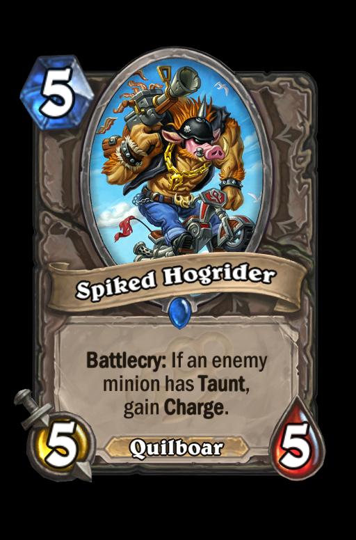 Spiked Hogrider Hearthstone kártya