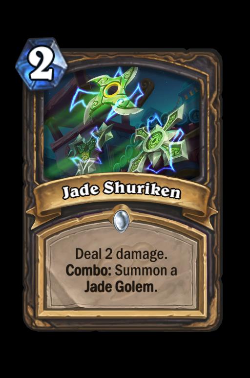 Jade Shuriken Hearthstone kártya