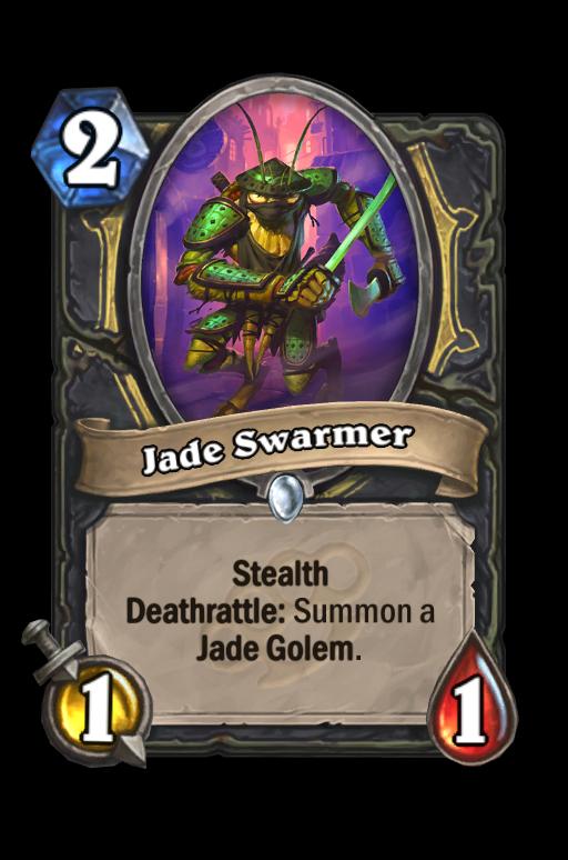 Jade Swarmer Hearthstone kártya