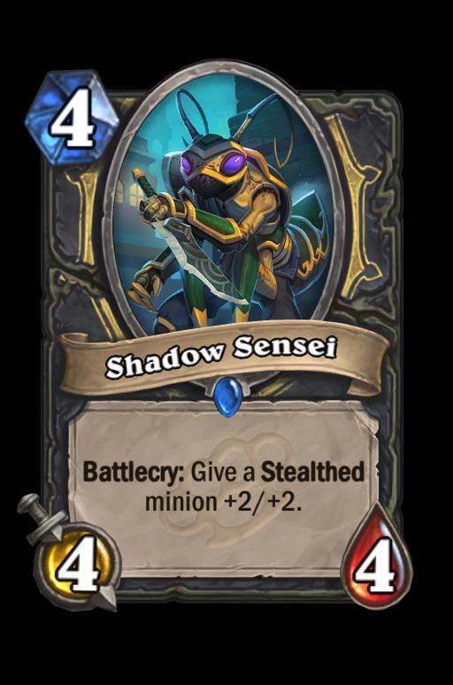 Shadow Sensei Hearthstone kártya