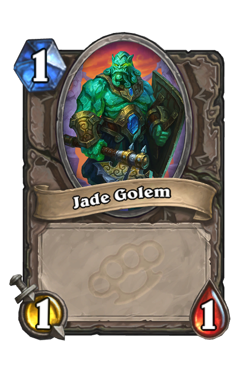 Jade GolemHearthstone kártya