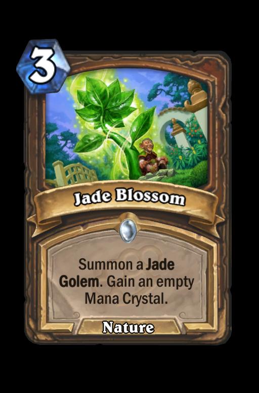 Jade Blossom Hearthstone kártya