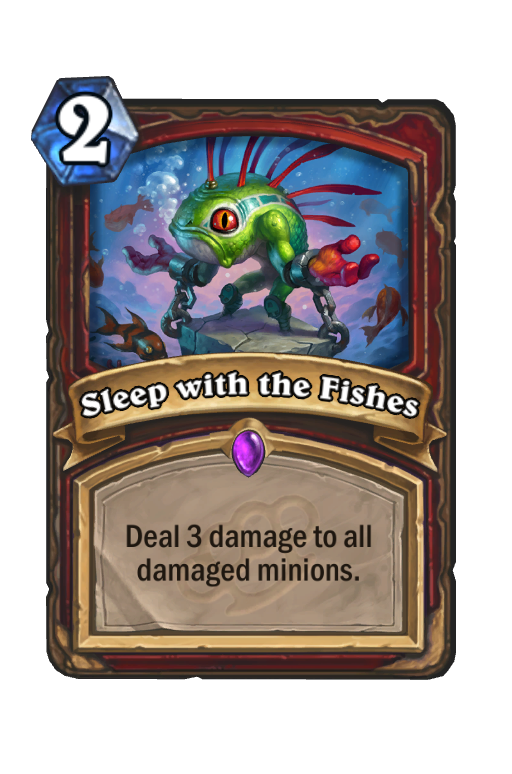 Sleep with the Fishes Hearthstone kártya