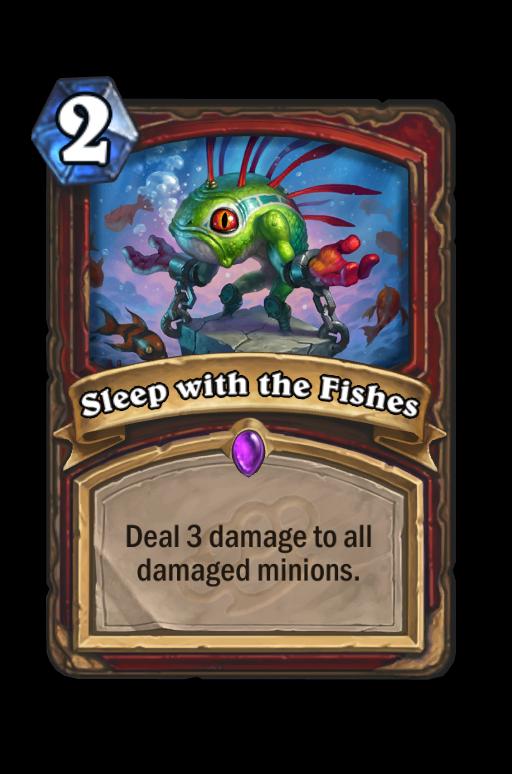 Sleep with the Fishes Hearthstone kártya