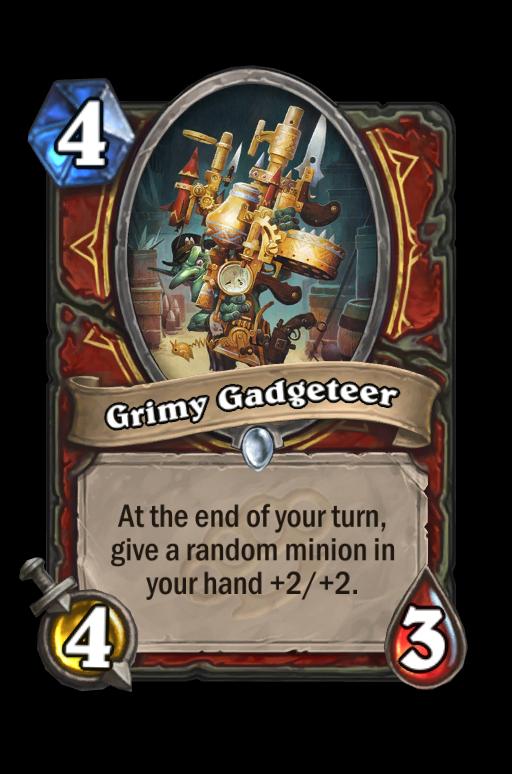 Grimy Gadgeteer Hearthstone kártya