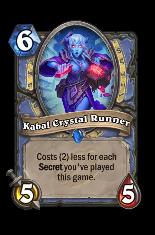 Kabal Crystal Runner Hearthstone kártya