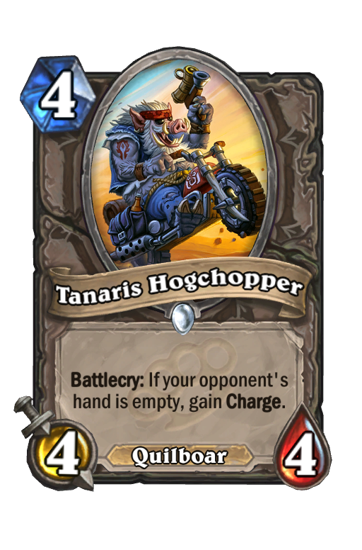 Tanaris Hogchopper Hearthstone kártya