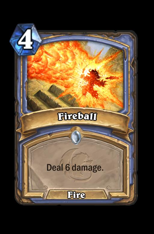 Fireball Hearthstone kártya