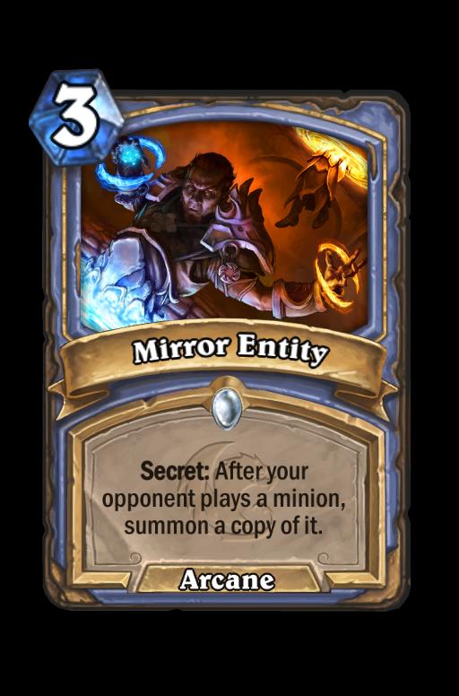 Mirror Entity Hearthstone kártya