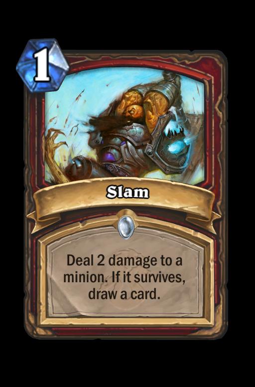 Slam Hearthstone kártya