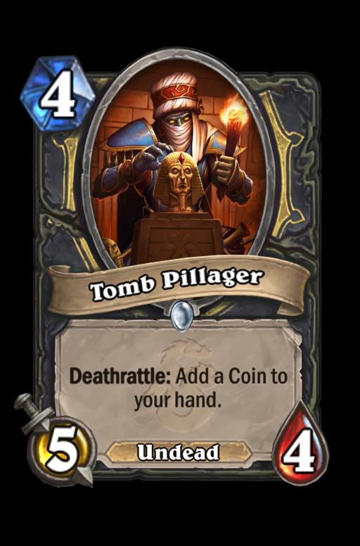 Tomb Pillager Hearthstone kártya