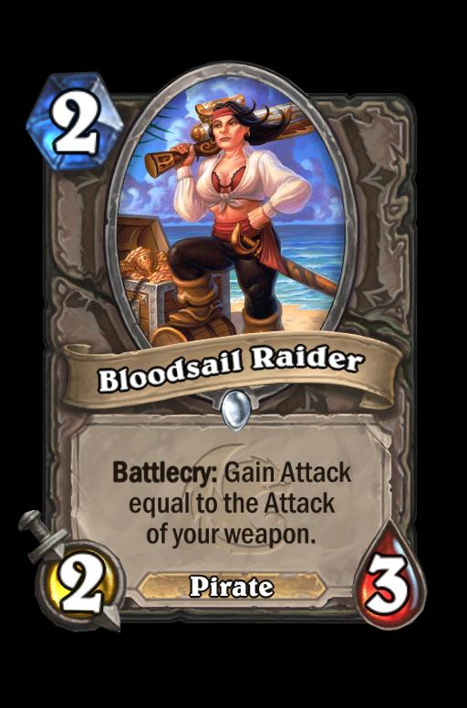 Bloodsail Raider Hearthstone kártya