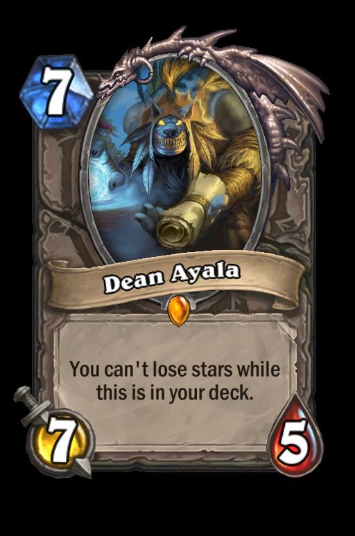 Dean Ayala Hearthstone kártya