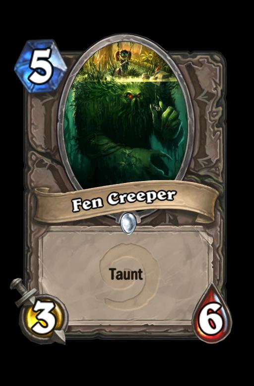Fen CreeperHearthstone kártya