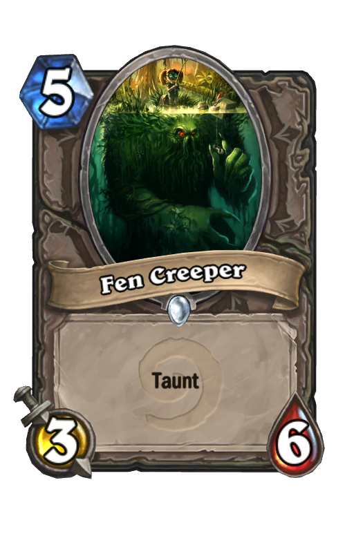 Fen Creeper Hearthstone kártya