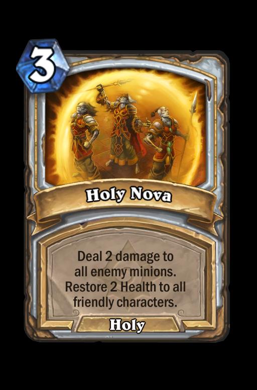 Holy Nova Hearthstone kártya