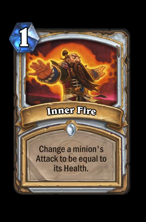 Inner Fire Hearthstone kártya