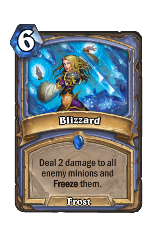 Blizzard Hearthstone kártya